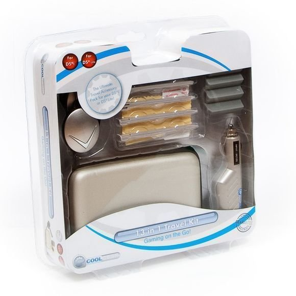 13 in 1 Travel Kit for NDS Lite and DSi Silver (Coolgear)