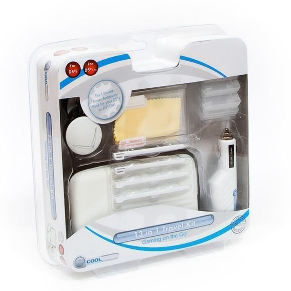 13 in 1 Travel Kit for NDS Lite and DSi White (Coolgear)