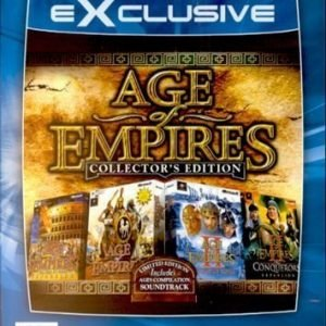 Age of Empire Collectors Edition 1 + 2 + Expansion