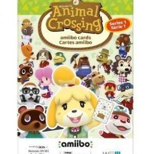 Animal Crossing Amiibo Cards 3 Pack Series 1