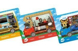 Animal Crossing: New Leaf Welcome amiibo! cards