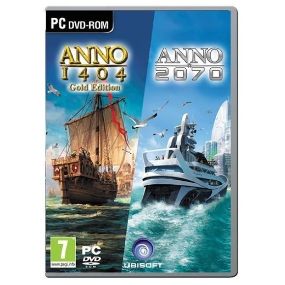 Anno 1404 Gold Edition + Anno 2070 (Double Pack)
