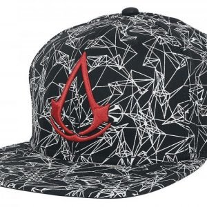 Assassin's Creed All Over Printed Logo Snapback-Lippis