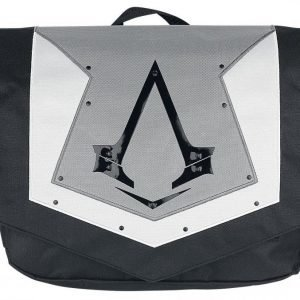 Assassin's Creed Messenger Bag Grey Flap Olkalaukku