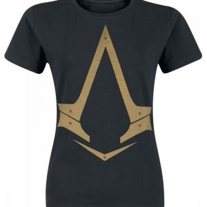 Assassin's Creed Syndicate Golden Logo Naisten T-Paita