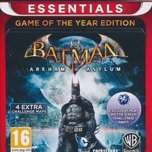 Batman Arkham Asylum GOTY Essentials