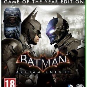 Batman: Arkham Knight Game of The Year Edition