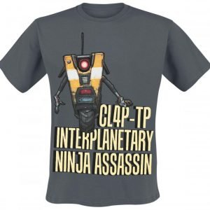 Borderlands Claptrap Assassin T-Paita