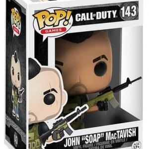 Call Of Duty John 'Soap' Mac Tavish Vinyl Figure 143 Keräilyfiguuri