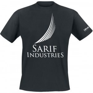 Deus Ex Universe Sarif Industries T-Paita