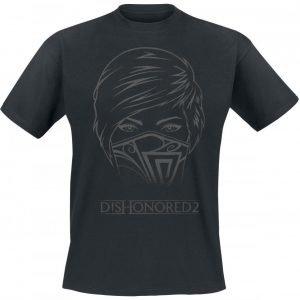 Dishonored 2 Emily's Face T-Paita
