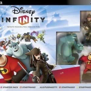Disney Infinity Starter Pack (Nordic)