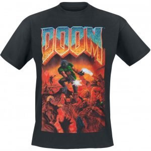 Doom Classic Boxart T-Paita