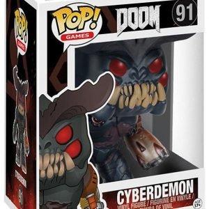 Doom Cyberdemon Vinyl Figure 91 Keräilyfiguuri