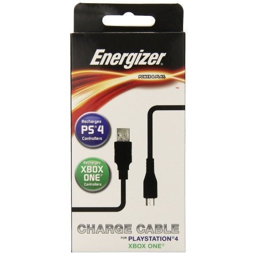 Energizer 2 meter universal Power & Play Cable - Xbox One PS4