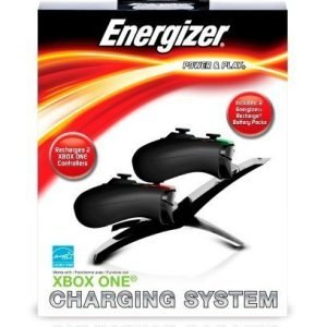 Energizer 2x Charger System Xbox One incl 2 batteries