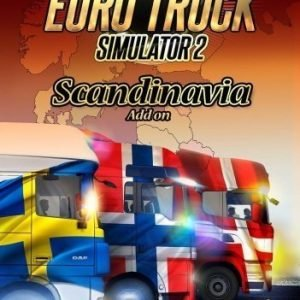 Euro Truck Simulator 2 - Scandinavia DLC (Code In A Box)