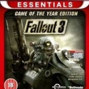 Fallout 3 - Game of the Year Edition (Essentials)