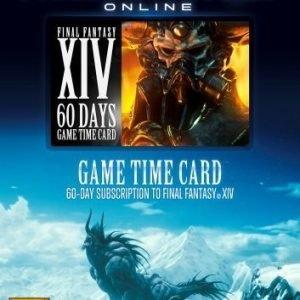 Final Fantasy XIV: A Realm Reborn 60 Days Game Time Card
