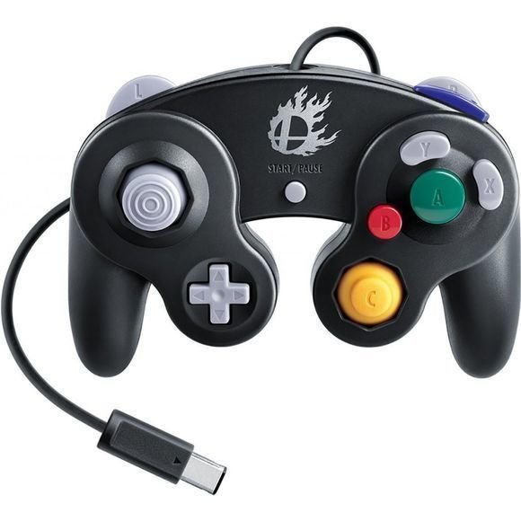 GameCube Controller - Super Smash Bros. (Black)