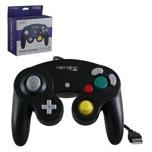 Gamecube Pad USB Black Retrolink