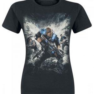 Gears Of War 4 Cover Naisten T-Paita