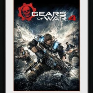 Gears Of War 4 Game Cover Kehystetty Kuva