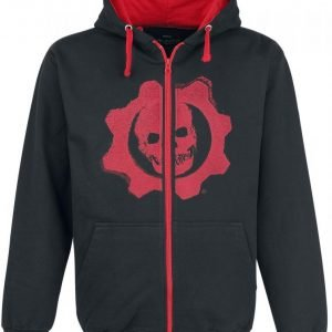 Gears Of War Black & Red Omen Vetoketjuhuppari