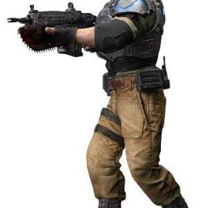Gears Of War Jd Fenix Action-Figuuri