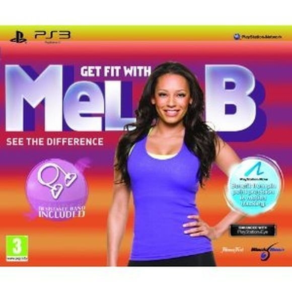 Get Fit With Mel B + Resistance Band (Move Compatible)