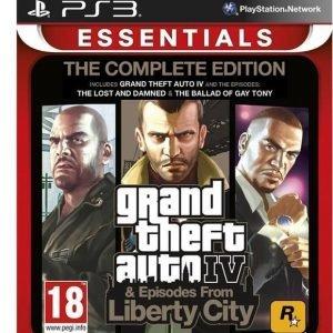 Grand Theft Auto IV (GTA 4) Complete Edition (Essentials)