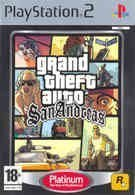 Grand Theft Auto San Andreas Platinum