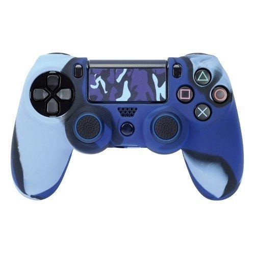 HAMA Mod-Kit för PS4 Blue Camo