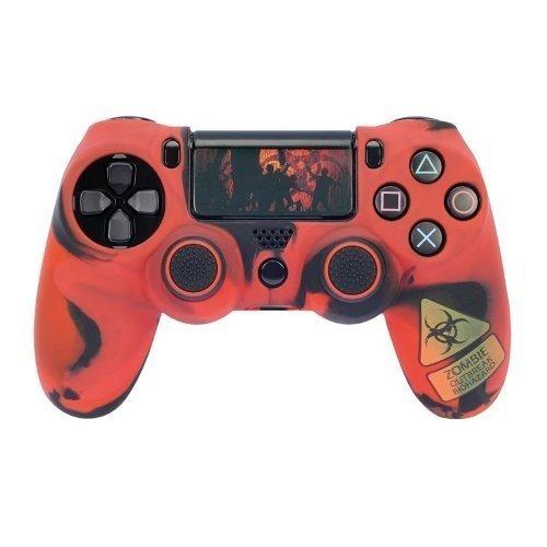 HAMA Mod-Kit för PS4 Red Undead