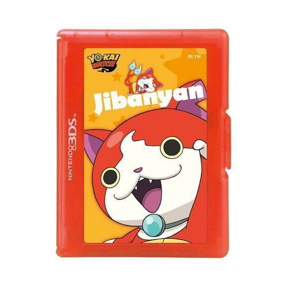 HORI - Yo-kai Watch 12-Game Card Case (Jibanyan)