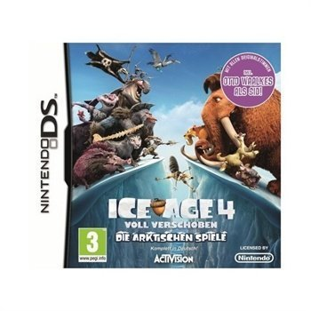 Ice Age 4 Continental Drift Peli Artic Games Nintendo DS