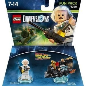 LEGO Dimensions Fun Pack Doc Brown - Back to the Future