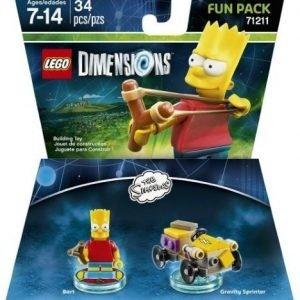 LEGO Dimensions Fun Pack Simpsons - Bart