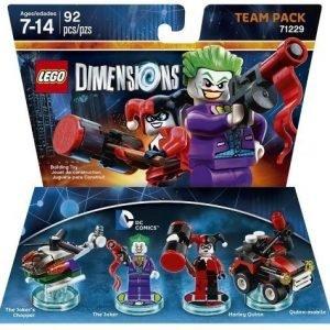 LEGO Dimensions Team Pack DC Comics: Joker and Harley Quinn