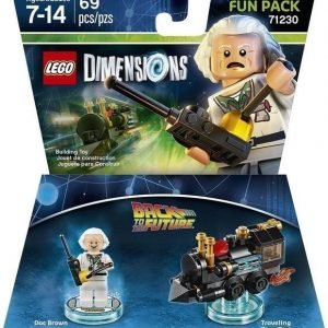 Lego Dimensions: Fun Pack - Doc Brown (Back To The Future)