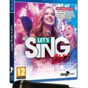 Let's Sing 2017 + 1 microphone