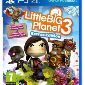 Little Big Planet 3 Extras Edition