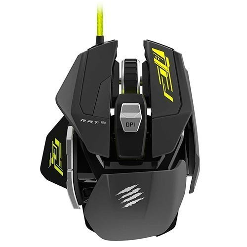 Mad Catz R.A.T. Pro S Gaming Mouse Pixart Optical 5000 Dpi