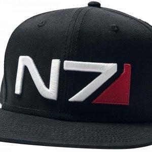Mass Effect Andromeda N7 Classic Logo Snapback-Lippis