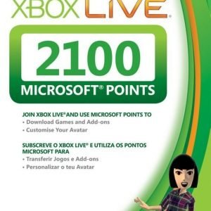 Microsoft Xbox 360 Live Points 2100