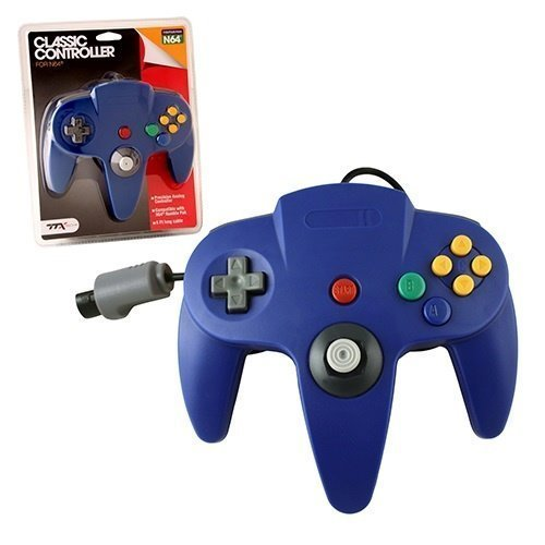 N64 Classic Controller Blue TTX