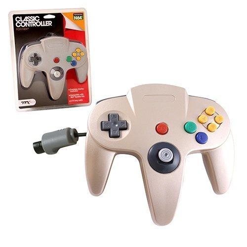 N64 Classic Controller Gold TTX