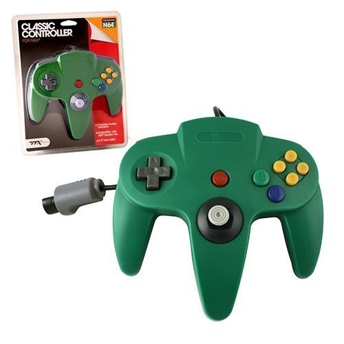 N64 Classic Controller Green TTX