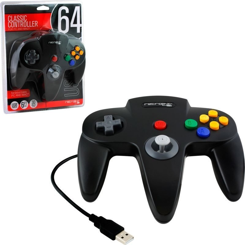 N64 Classic Controller USB