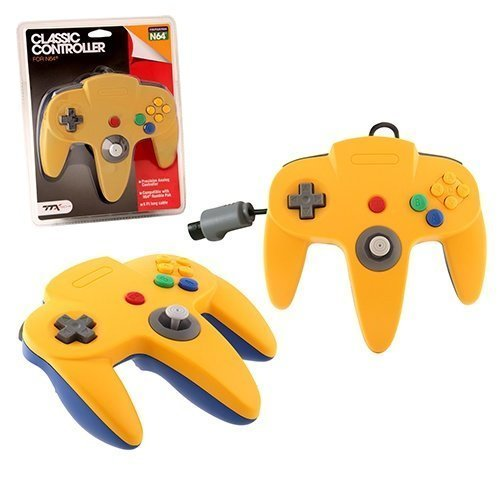 N64 Classic Controller Yell/BlueTTX